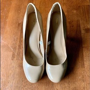 Mossimo nude heels. Goes with any outfit!